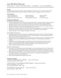 General Resume Skills Examples Good Resume Skills Sample Resume ...