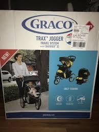 graco trax jogger connect