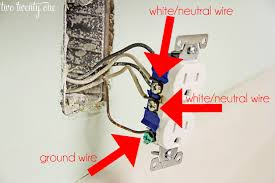 how to replace electrical outlets Wall Outlet Wiring install a wall outlet wall outlet wiring diagram