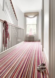 Sophie Conran carpet - love me a stripes hall carpet. Such an English thing!