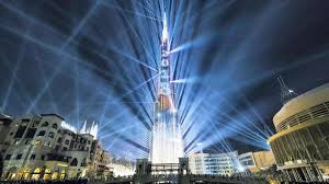 Burj Khalifa Light Show Timings Burj Khalifas New Years Eve Laser Light Show To Be