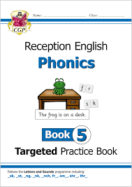 We encourage you to work with this section on a daily basis. English Targeted Practice Book Phonics Reception Book 3 Cgp Books