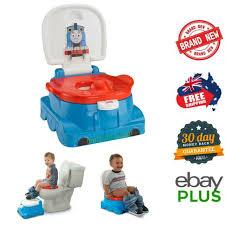 Thomas The Tank Engine Rewards Potty Music Sounds Step Stool Toilet Training New