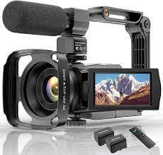 Videokamera 4K WiFi Full Hd Video Camcorder mit: Amazon.de: Kamera