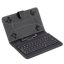 Bao da Pu có bàn phím kèm bút cảm ứng chuyên dụng cho máy tính bảng Android  7/8 Inch