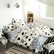 cow print bedding cow print bedding set leopard print bedding queen size