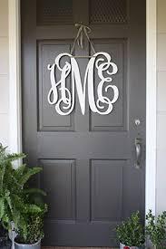 SouthernProperMonograms.com as seen in The Prettiest Front Doors - Front  Door Ideas - Oprah