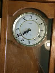 linden pendulum wall clock westminster