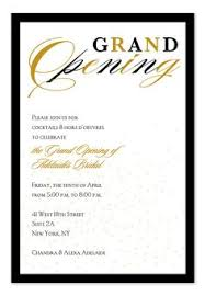 Golden Beads Invitations In Black In 2019 Grand Opening
