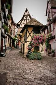 travel inspiration for france meval village eguisheim france this reminds me of the town in beauty and the beast and i love it