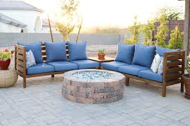 once the cushions were cleaned and dry i set them back on the patio set they look and feel so much cleaner now that they don t have a coat of dust
