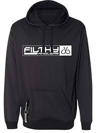 Filthy Anglers Hoodie Sweatshirt W Built In Koozie Bottle Opener Multiple Color Options