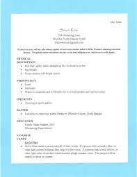 Resume Stay At Home Mom Resume Template