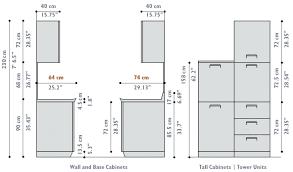 Size Chart In Cm Standard Kitchen Cabinet Sizes Cm Kiendo Info