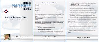 Proposal Template Microsoft Word Business Proposal Template