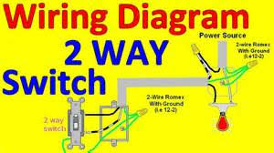 how to wire three lights two switches images how to wire a two way switch
