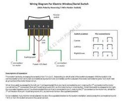 electric motor reversing switch wiring diagram images electric wiring diagram for electric window aerial switch