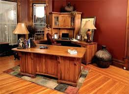 solid oak office desk. Wood Office Desk Deluxe Executive With Corner Work Station Solid . Oak