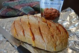 Cheesy Tikka Bread Authentic World Cuisine Saffron Road