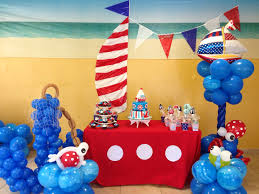 Interior Design Amazing Lighthouse Themed Party Decorations Good