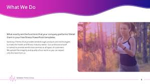 Physical Fitness Premium Powerpoint Template Slidestore