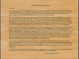willie lynch letterthe making of a slaveis this you youtube inside willie lynch letter