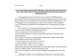scene romeo and juliet essay act 3 scene 5 romeo and juliet essay