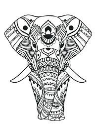 elephant coloring pages elephant mandala color pages coloring pages elephant s coloring pages for s elephant
