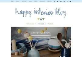 home decor blog designs for wordpress blogger and more idthed