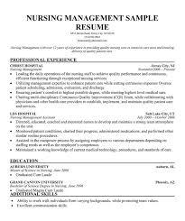 Sample Resume Nurse Manager Professional User Manual Ebooks