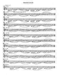 French Horn Scales Finger Chart 64 Problem Solving F French Horn Fingering Chart