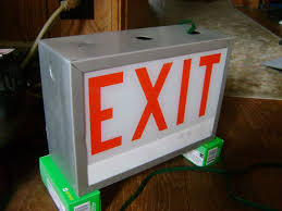 lighting gallery net seber s exit sign collection alkco file information