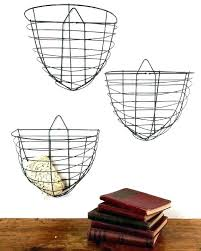 hanging wire basket wall hanging fruit baskets charming ideas wall hanging wire baskets plus mounted basket vintage in image hanging wire basket with hooks