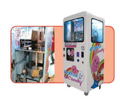 Candy Machine Vending Impressive VendEver Rolls Out Cotton Candy Machine Articles Vending Times