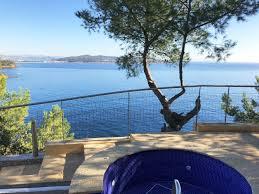 fabregas la seyne toulon var sud villa fabregas tamaris pieds dans l eau vue mer panoramique piscine