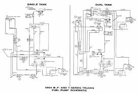 ford b f t series trucks 1964 fuel pump schematic diagram ford b f t series trucks 1964 fuel pump schematic diagram