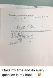 memes book and time 9 a solve each equation by factoring
