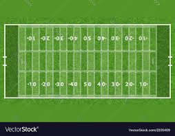 grass american football field. American Football Field Vector Image Grass E