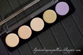 make up for ever 5 camouflage cream palette review lipstick on your pillow makeup beauty and fashion