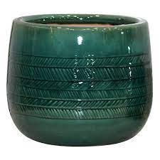 12in indoor ceramic herringbone