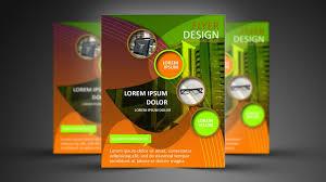 Photoshop Design Flyer Photoshop Tutorial Abstract Shape Flyer Design