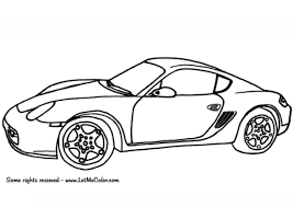 Porsche Kleurplaten Gratis Printbare Kleurplaten