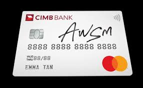cimb credit cards
