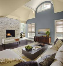 Paint Ideas For Living Room With Stone Fireplace Nice With Paint