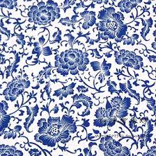 Blue And White China Pattern Inspiration Blue White Flower Pattern Cn 48 Vintage Chinese Style Blue