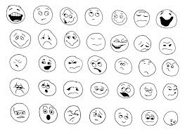 Small Picture Emotions Coloring Pages Educations Pdf And Behaviour Preschool
