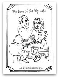 Small Picture Free Vegetable Garden Coloring Books Printable Activity Pages for