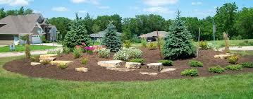 Berm Garden Designs Landscaping Design Gallery Forever Green Iowa City Coralville