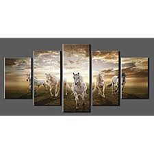 amazon com gift craft framed canvas prints haltered horse posters in art remodel 3 on framed canvas wall prints with horses art prints icanvas throughout horse canvas designs 13