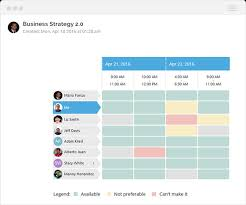 Group Scheduler Top 6 Meeting Scheduler Apps Tools To Improve Your